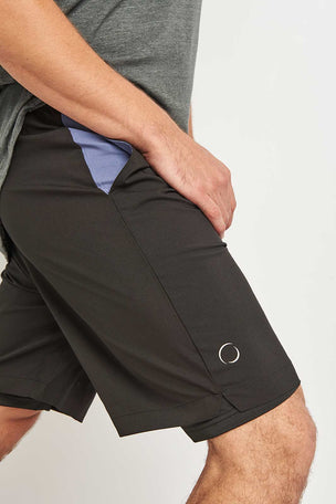 OHMME Warrior II Lined Yoga Shorts image 3 - The Sports Edit