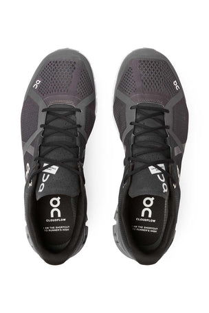 ON Running Cloudflow - Black/Asphalt 2.0 | Men's image 4 - The Sports Edit