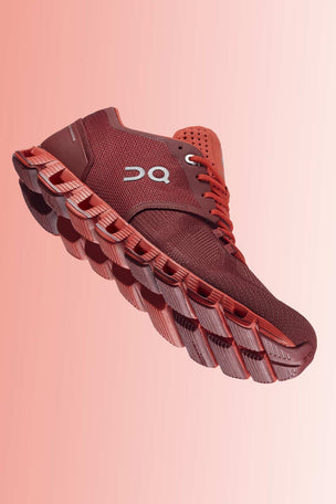 ON Running Cloud X - Sienna/Rust | Men's image 2 - The Sports Edit
