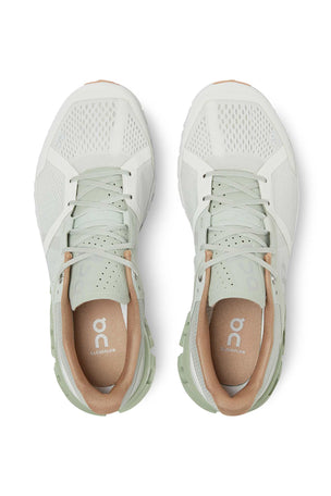 ON Running Cloudflow - Aloe/White | Women's image 4 - The Sports Edit