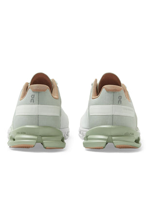 ON Running Cloudflow - Aloe/White | Women's image 6 - The Sports Edit