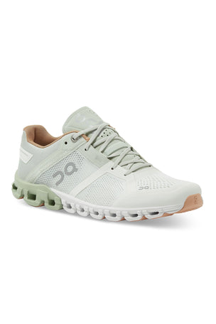 ON Running Cloudflow - Aloe/White | Women's image 8 - The Sports Edit
