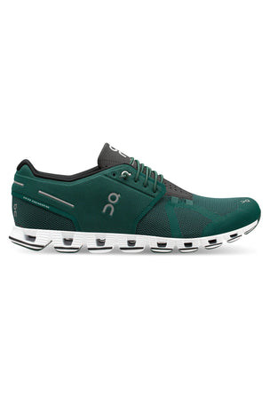 ON Running Cloud - Evergreen/Black | Men's image 1 - The Sports Edit