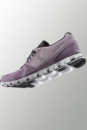 ON Running Cloud - Lilac/Black | Women's image 6 - The Sports Edit