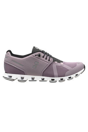 ON Running Cloud - Lilac/Black | Women's image 1 - The Sports Edit