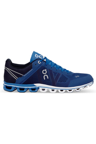 ON Running Men's Cloudflow River/Navy image 1 - The Sports Edit