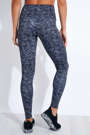 Onzie High Waisted Legging - Ripple image 3 - The Sports Edit