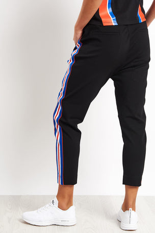 PE Nation Court Run Pant - Black image 2 - The Sports Edit