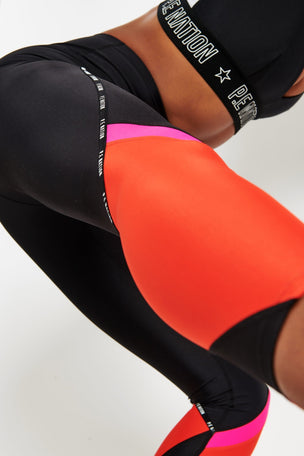 PE Nation En-garde Legging - Black image 4 - The Sports Edit