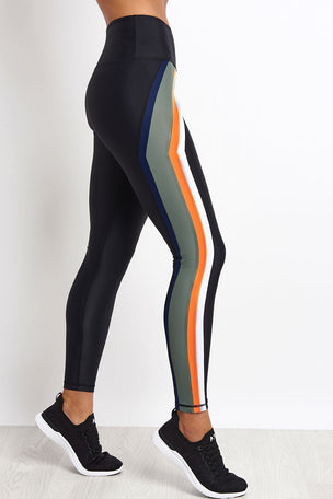 PE Nation Flight Series Legging - Black image 5 - The Sports Edit