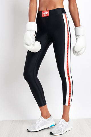 PE Nation Brawler Legging - Black image 1 - The Sports Edit