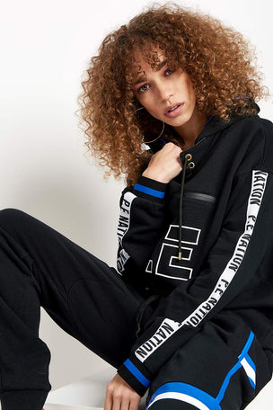 PE Nation The Blind Pass Hoodie Black image 3 - The Sports Edit