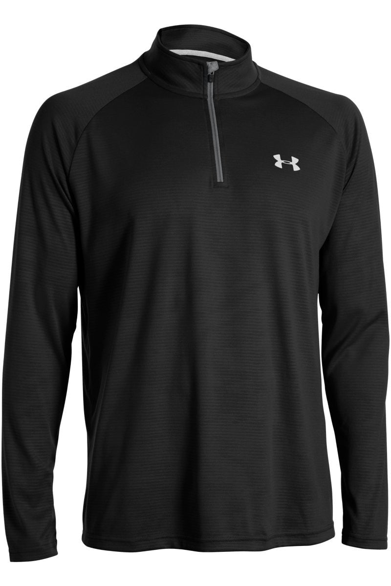 Under Armour Technical 1/4 Zip Long Sleeve - Black image 4 - The Sports Edit