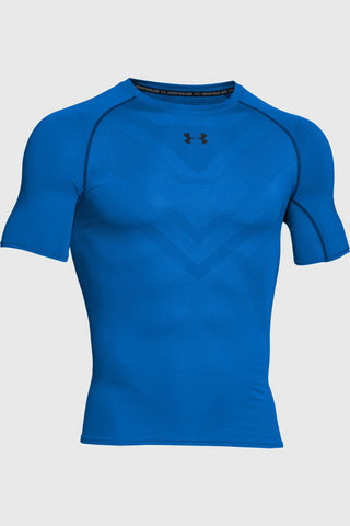 Under Armour ArmourVent Compression SS Blue image 1