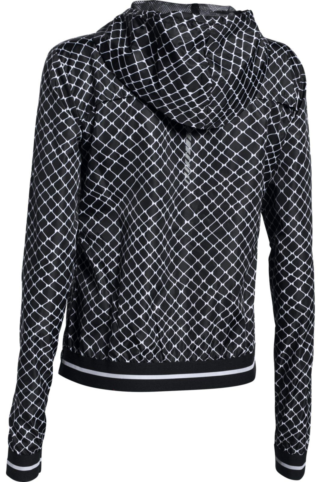 Under Armour Printed Layered Up Storm Jacket BLK/WHT/REF image 3 - The Sports Edit