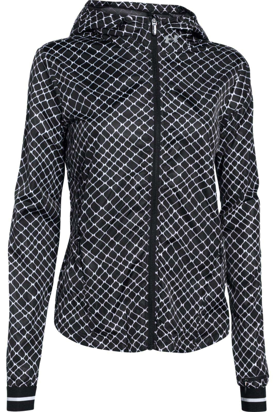Under Armour Printed Layered Up Storm Jacket BLK/WHT/REF image 2 - The Sports Edit
