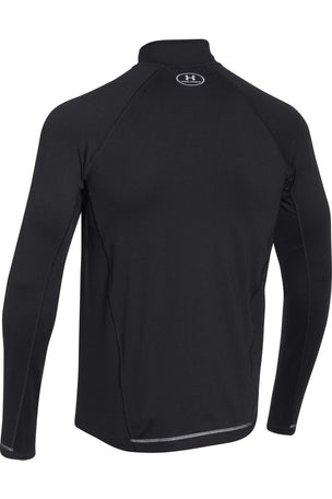 Under Armour UA Launch Zip-Up Long Sleeve Top - Black/Graphite image 5 - The Sports Edit