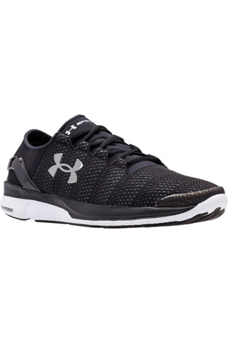Under Armour UA SpeedForm Turbulence BLK/BLK/WHT M image 1 - The Sports Edit