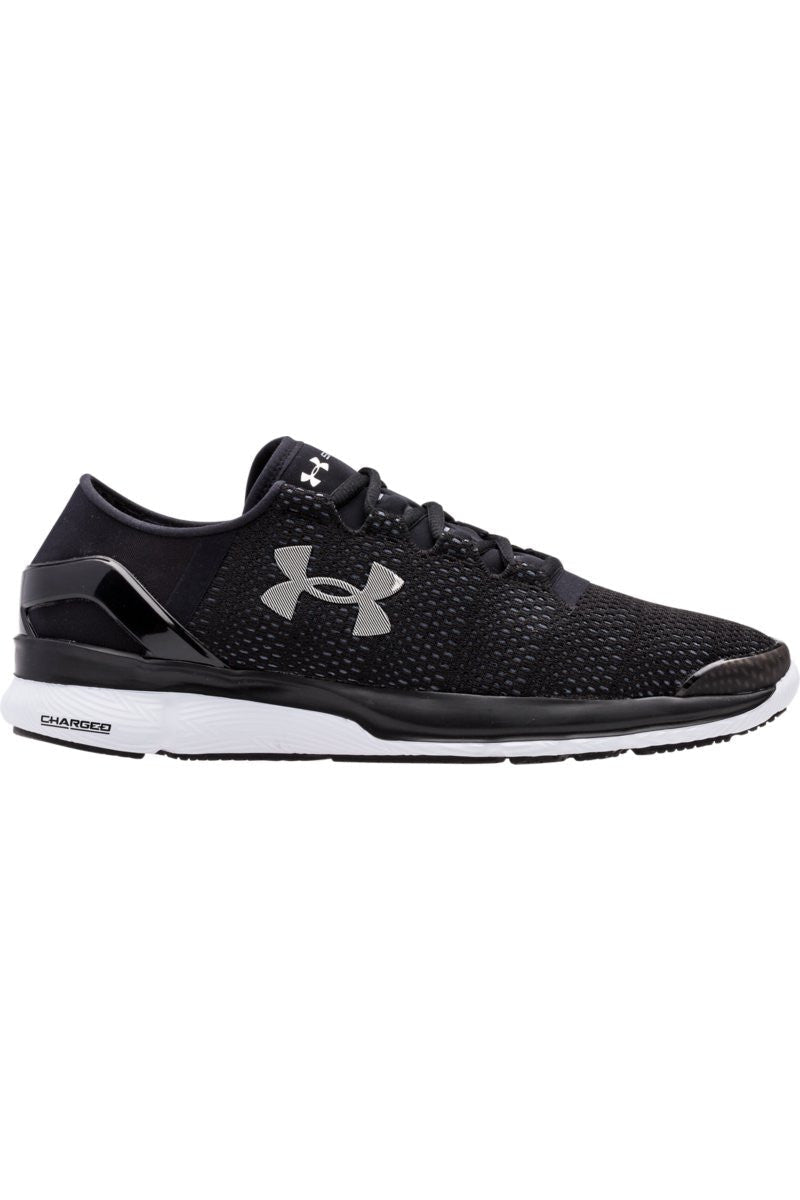 Under Armour UA SpeedForm Turbulence BLK/BLK/WHT M image 2 - The Sports Edit