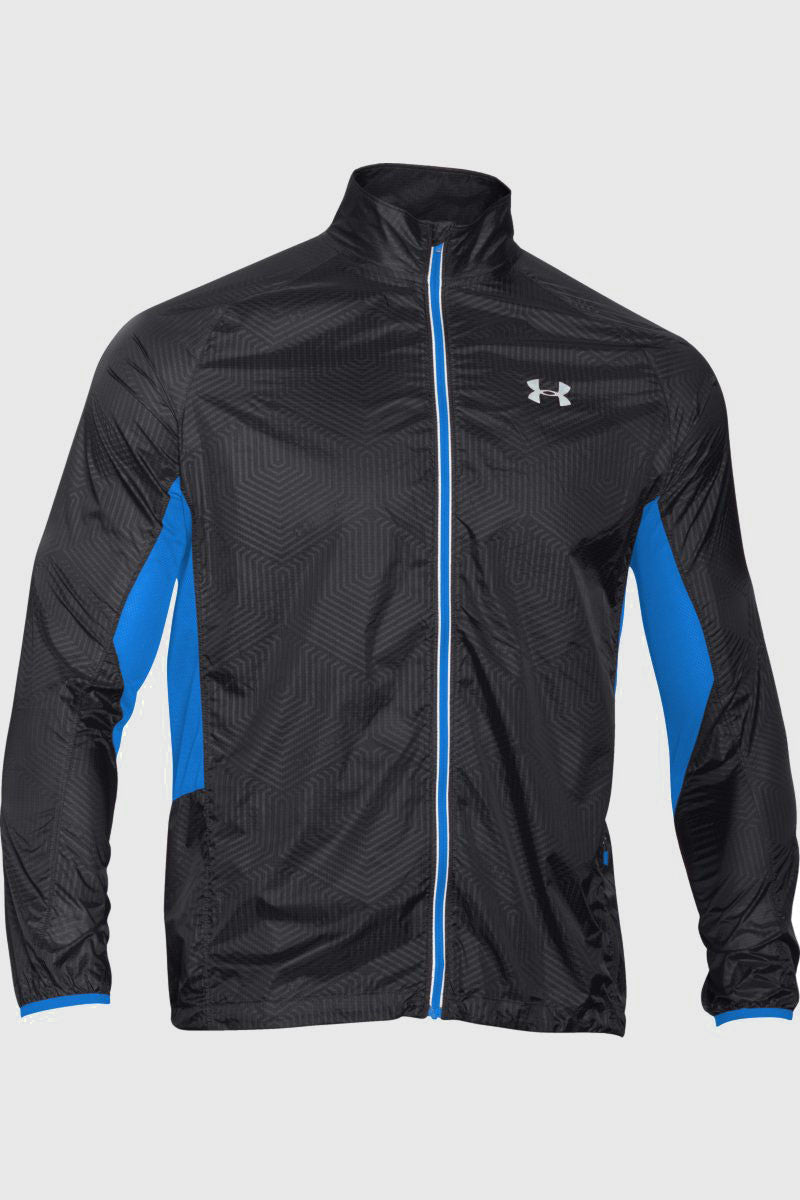 Under Armour UA ColdGear® Infrared Storm Packable Jacket Black image 6 - The Sports Edit