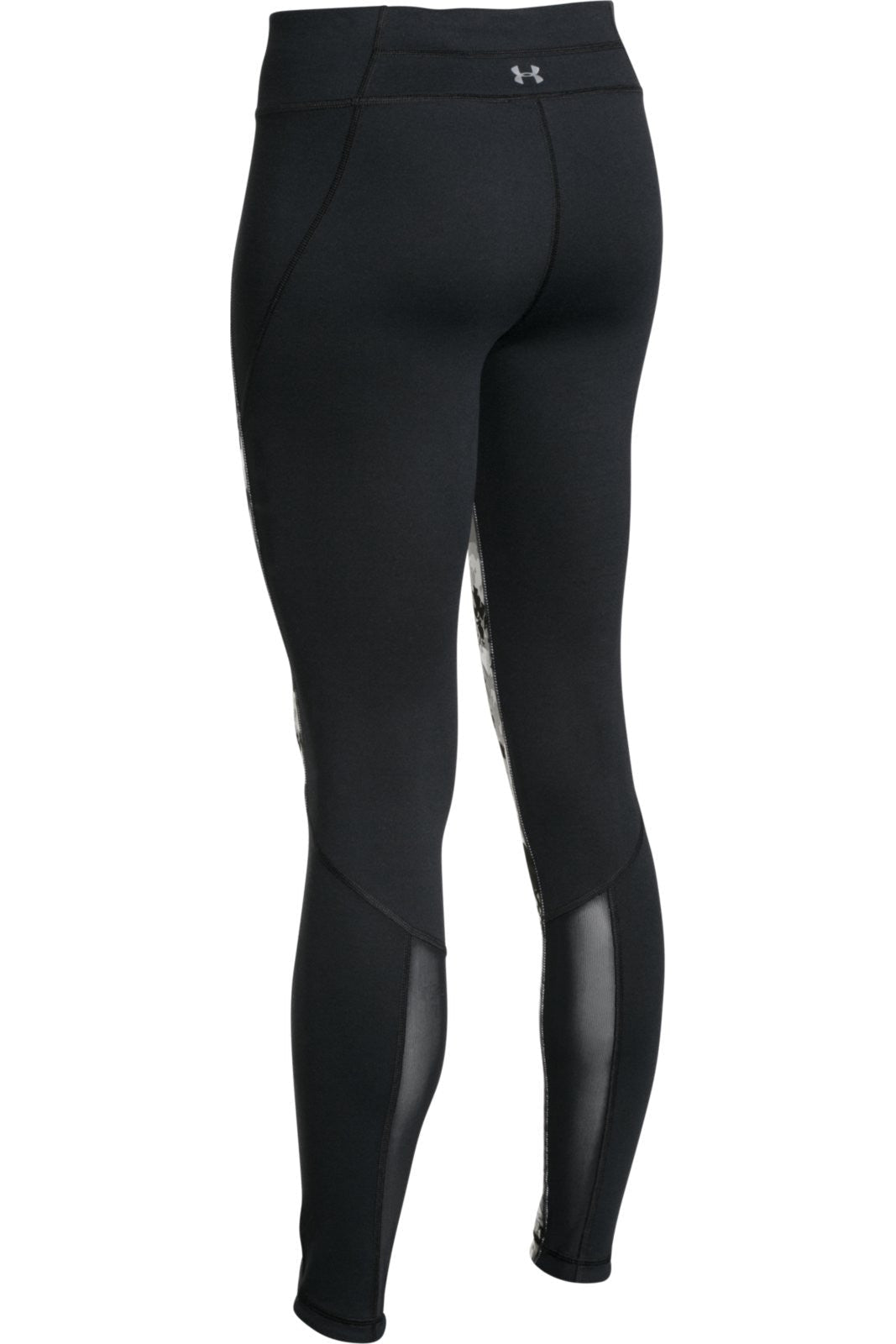 Under Armour UA Mirror Printed Legging - Black/Silver Camo image 4