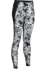 Under Armour UA Mirror Printed Legging - Black/Silver Camo image 1