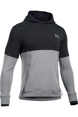 Under Armour Threadborne Hoodie-Black/Grey image 5 - The Sports Edit