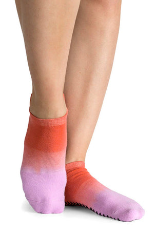 Pointe Studio Elie Grip Sock - Pink image 2 - The Sports Edit