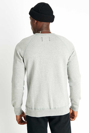 Reigning Champ Crewneck Midweight Terry - Grey image 3 - The Sports Edit