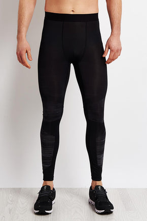 1fa5d89d1dc00 Reebok Speedwick Compression Tights - Black image 1 - The Sports Edit