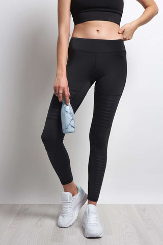 Reebok Dance Mesh Tight Black image 1 - The Sports Edit