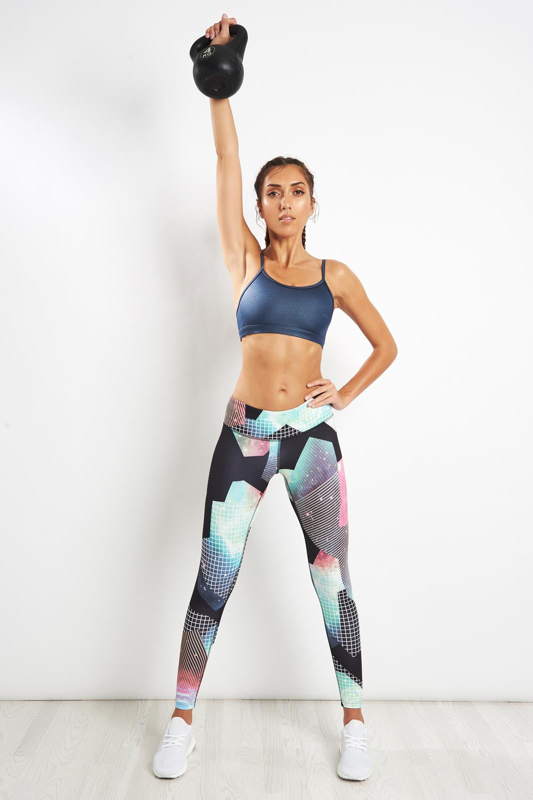 Reebok Hero Rebel Bra - Blue image 4 - The Sports Edit