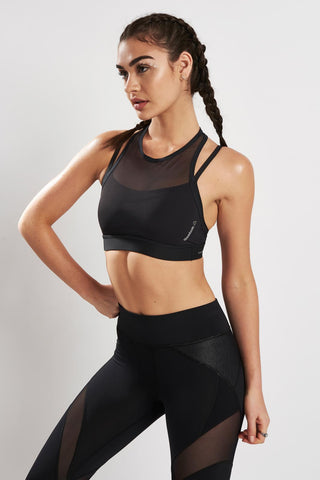 Reebok Hero Strong Bra Black image 1 - The Sports Edit