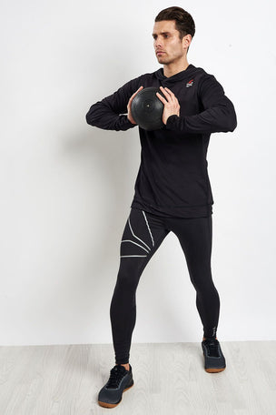 Reebok CrossFit Jacquard Hoodie image 4 - The Sports Edit
