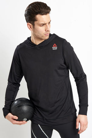 Reebok CrossFit Jacquard Hoodie image 1 - The Sports Edit