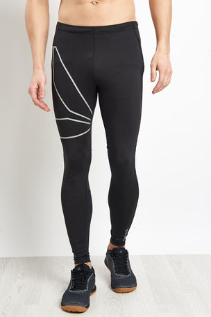 Reebok Running Tights - Black image 1 - The Sports Edit