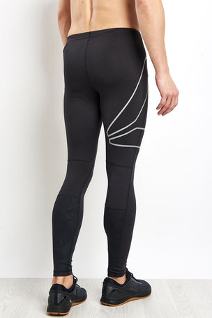 Reebok Running Tights - Black image 2 - The Sports Edit