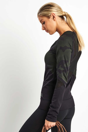Reebok Thermowarm Seamless Long Sleeve image 2 - The Sports Edit