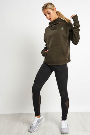 Reebok CrossFit Hoodie - Dark Cypress image 4 - The Sports Edit