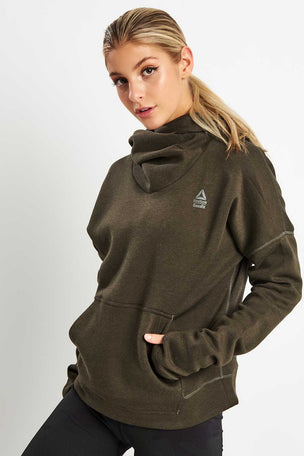 Reebok CrossFit Hoodie - Dark Cypress image 5 - The Sports Edit