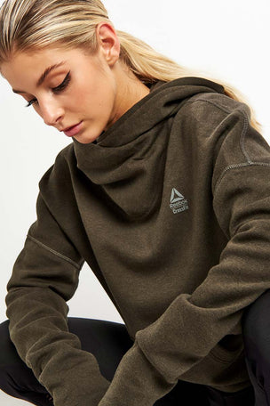 Reebok CrossFit Hoodie - Dark Cypress image 3 - The Sports Edit