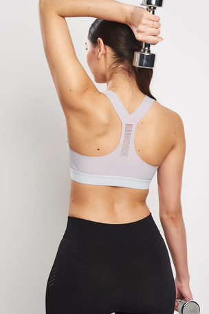 Reebok PureMove Bra - Cold Grey image 4 - The Sports Edit