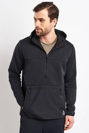 Reebok Thermowarm Control Hoodie - Black image 1 - The Sports Edit