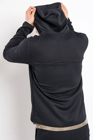 Reebok Thermowarm Control Hoodie - Black image 2 - The Sports Edit
