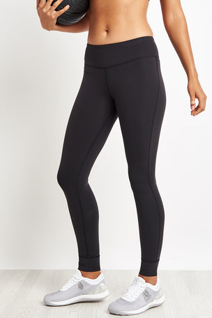 Reebok Lux Leggings - Black image 1 - The Sports Edit