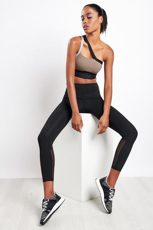 Reebok Reebok | Mesh Tights - Black image 4 - The Sports Edit