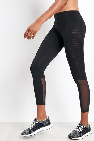 Reebok Reebok | Mesh Tights - Black image 1 - The Sports Edit