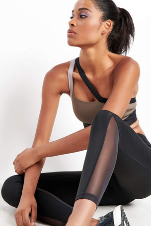 Reebok Reebok | Mesh Tights - Black image 3 - The Sports Edit