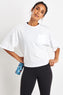 Reebok Training Supply Pocket Tee - White image 1 - The Sports Edit