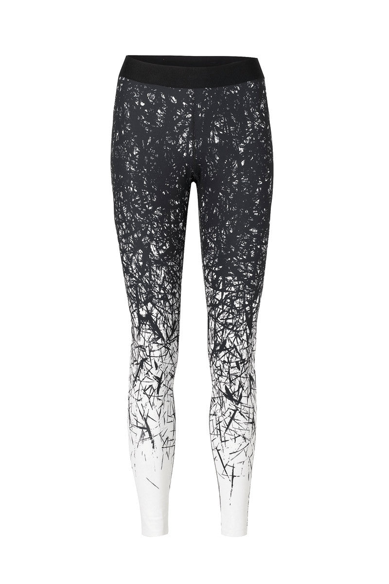 Reebok Cardio Spike Tight - Chalk image 6 - The Sports Edit